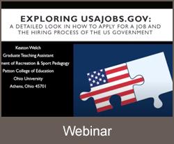 Webinar USAJobs.gov