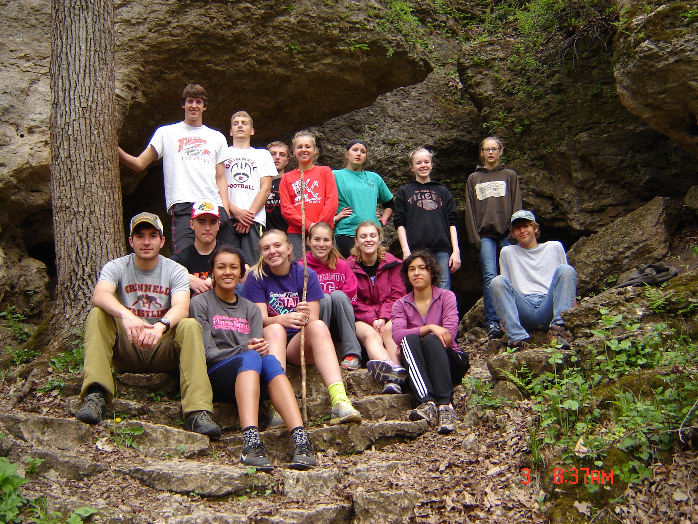 Grinnell H.S. Outdoor Adventure Program