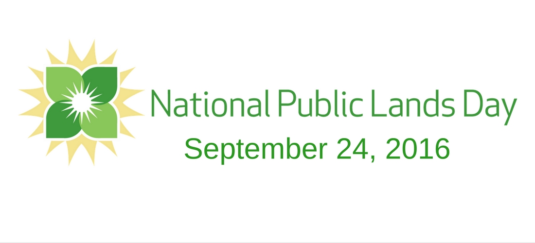 SAVE THE DATE: National Public Lands Day, September 24, 2016!