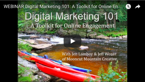 WEBINAR Digital Marketing 101: A Toolkit for Online Engagement