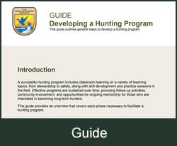 Developing a Hunting Program