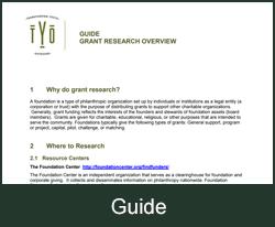Grant research