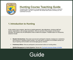 Hunting Course Guide