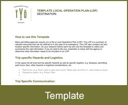 Local Operation Plan